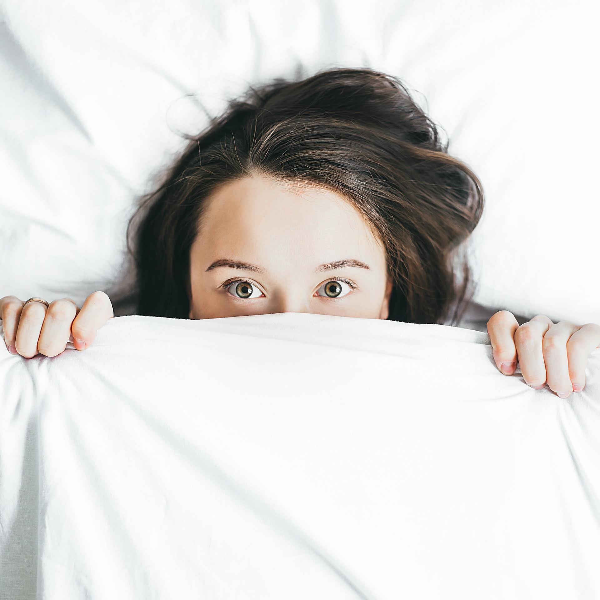 Woman-awake