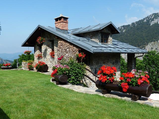 krásná chata