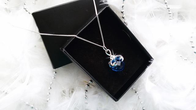 náhrdelník v krabičce
