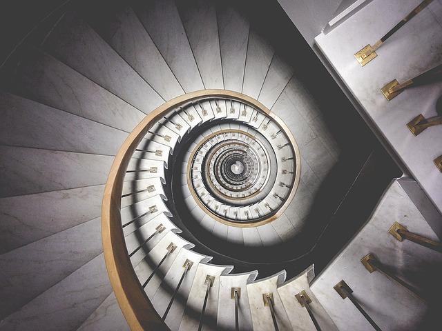spirálové schody