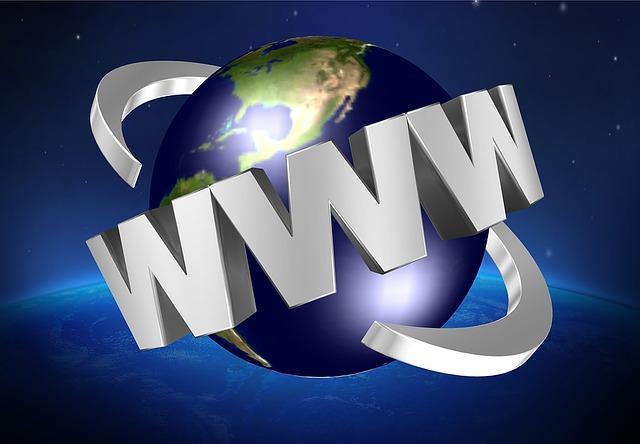 """Zemeguľa, okolo ktorej je nápis """"WWW"""".jpg"""